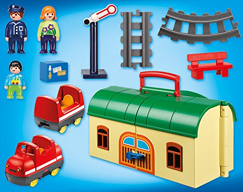 Discontinued playmobil 1 2 3 my take along train best - Train playmobil ...