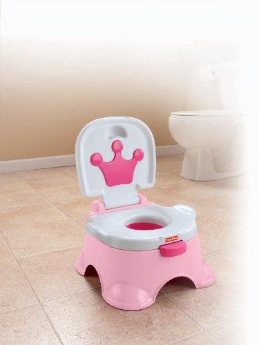 Pink Princess Stepstool Potty Best Educational Infant