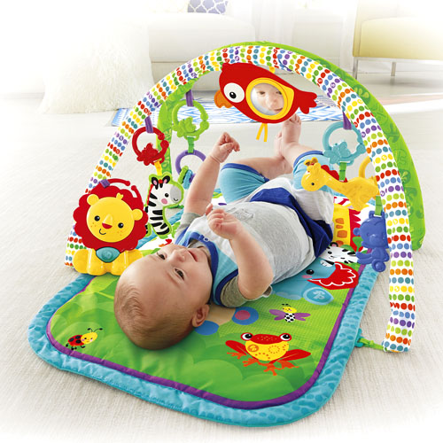 Fisher Price Rainforest Friends 3 In 1 Musical Activity