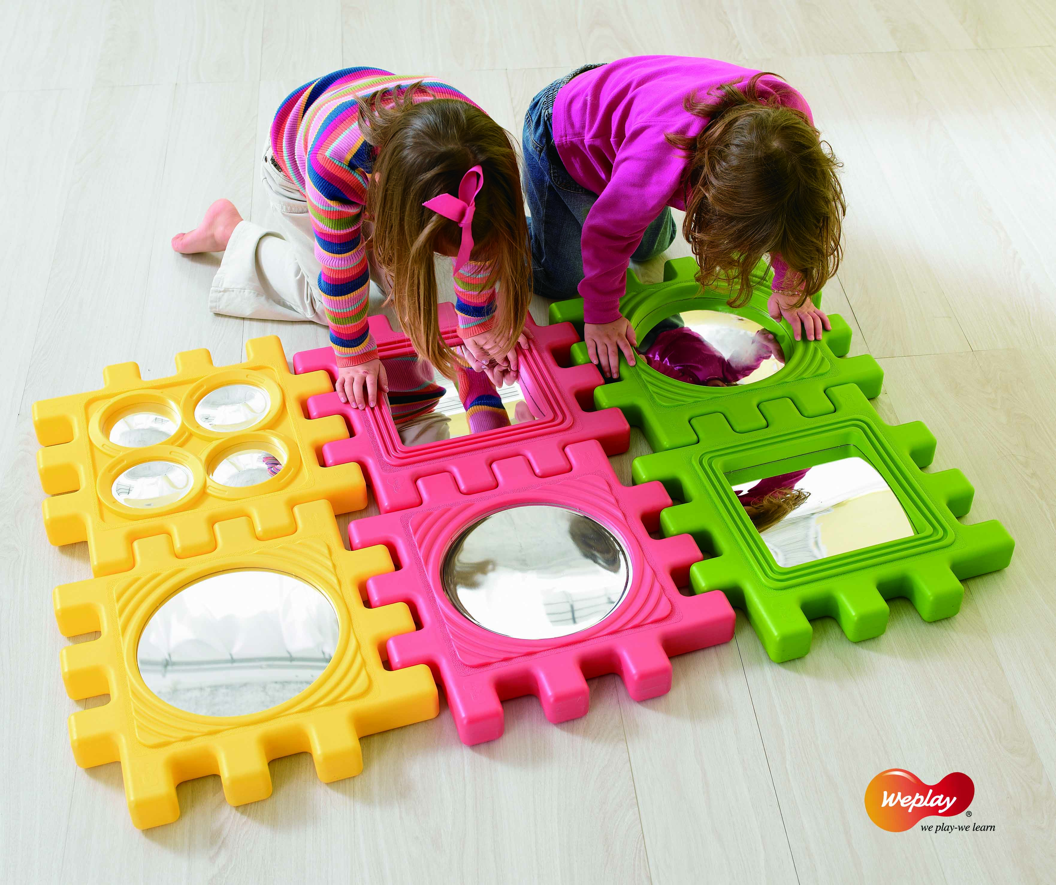 Weplay Reflector Cube Best Educational Infant Toys