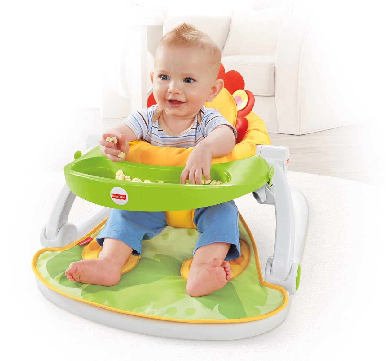 Fisher Price Sit Me Up Floor Seat With Tray Best Educational