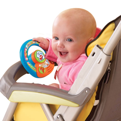 Spin and Explore Steering Wheel - Best Educational Infant Toys ...