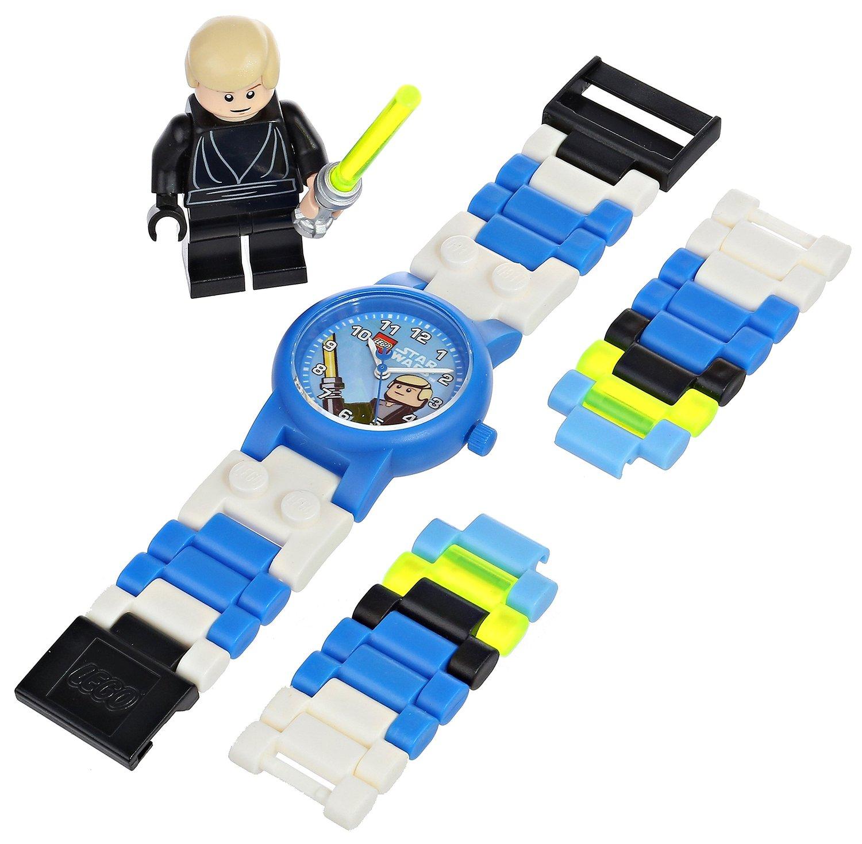 lego star wars luke skywalker watch with minifigure by lego code ...