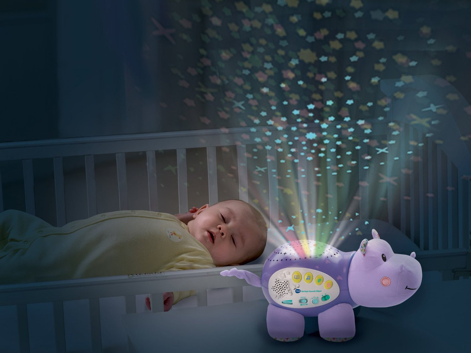 Vtech Starlight Sounds Hippo Projector Soothing