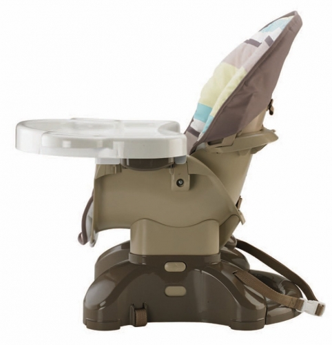 Space Saver High Chair Stripes Best Educational Infant