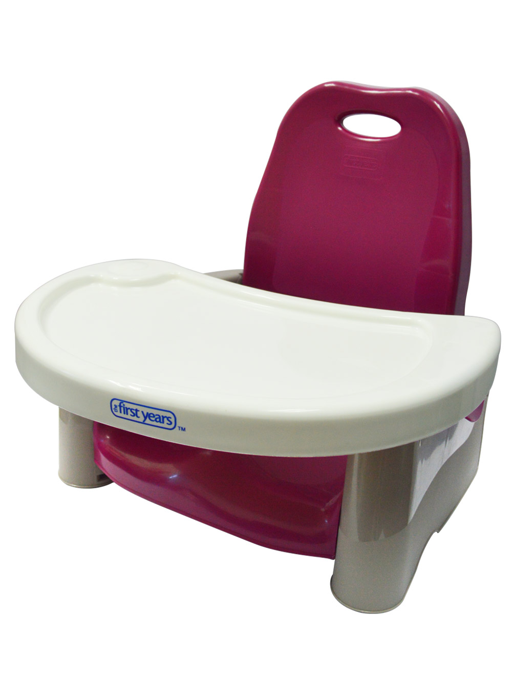 Swing Tray Booster Seat Cranberry Best Educational