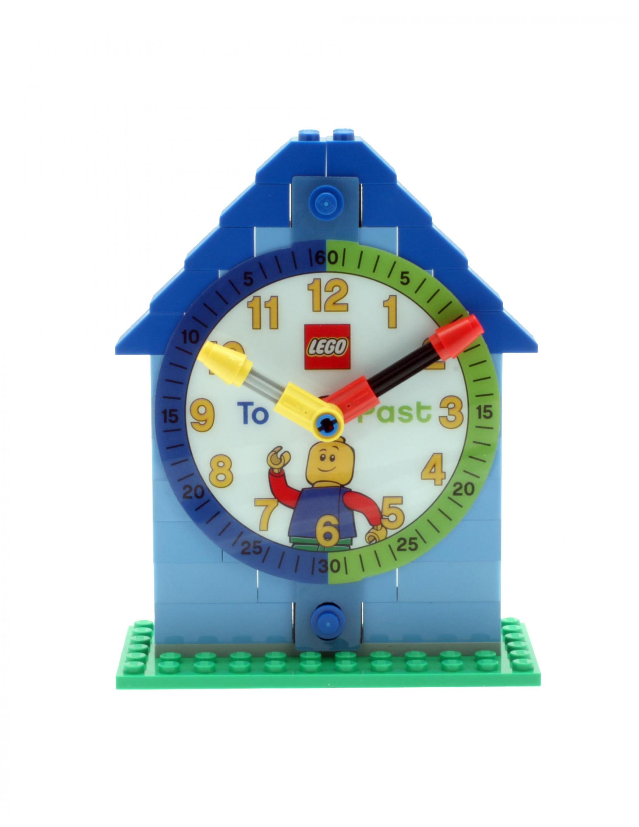 LEGO Boys Time Teacher Clock + Watch - Best Educational Infant Toys