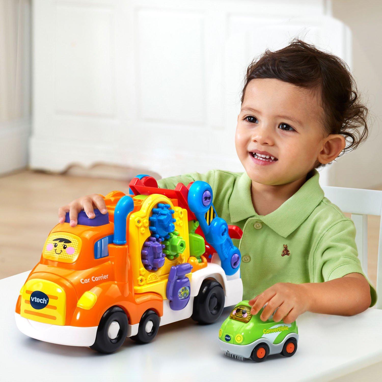 Vtech Toot Toot Drivers Car Carrier Go Go Smart Wheels Best