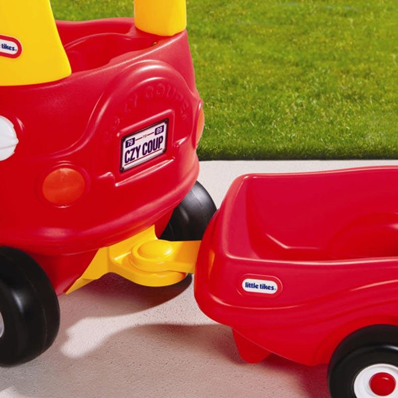 Little tikes cozy coupe trailer best educational infant - Little tikes cosy coupe car best price ...