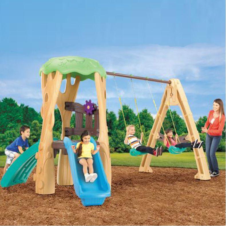 little tikes treehouse swing set best educational infant