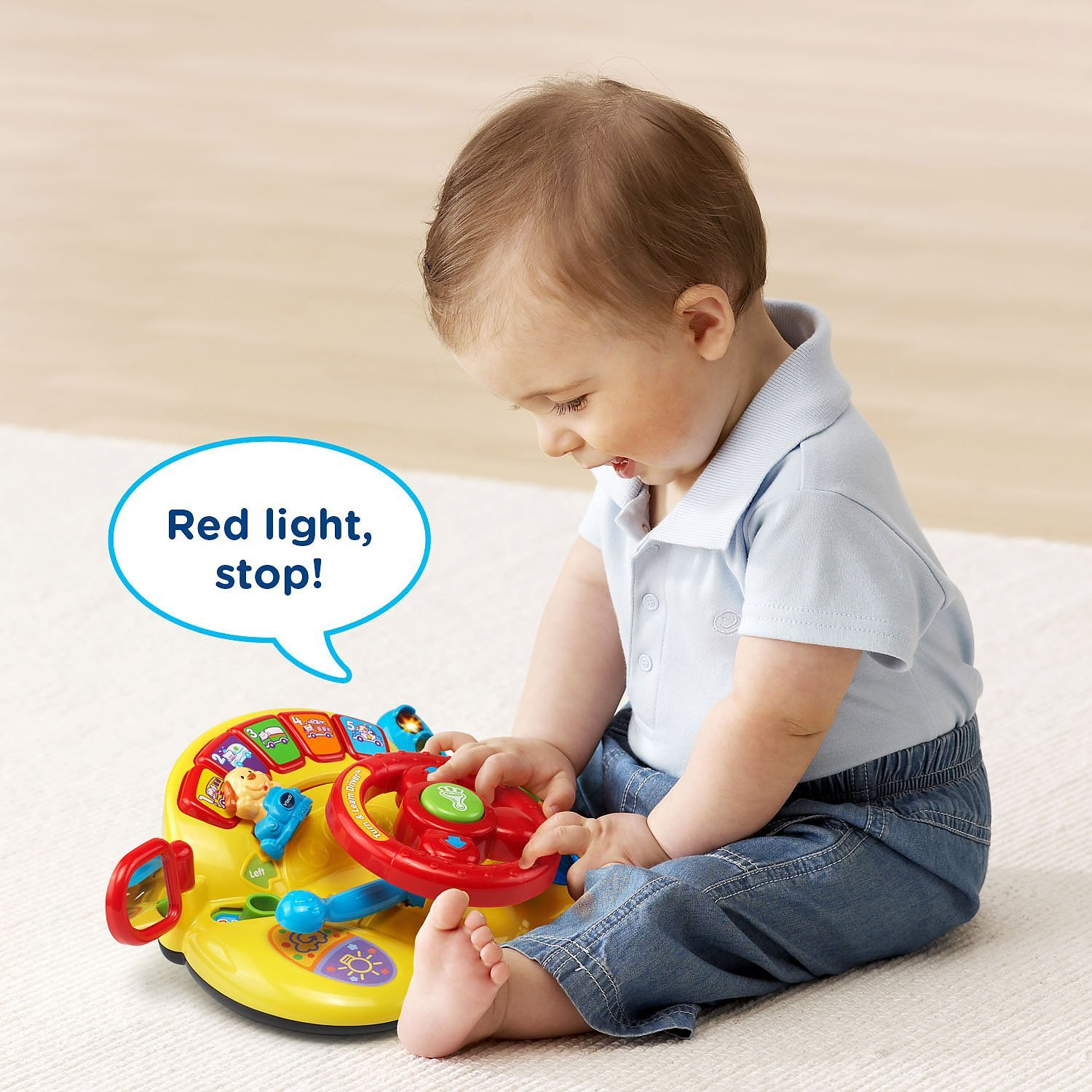 Tiny Tots Toys : Vtech tiny tot driver turn and learn best
