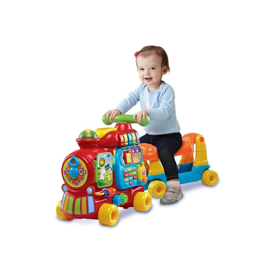 Vtech Sit To Stand Ultimate Alphabet Train Push Ride On Best