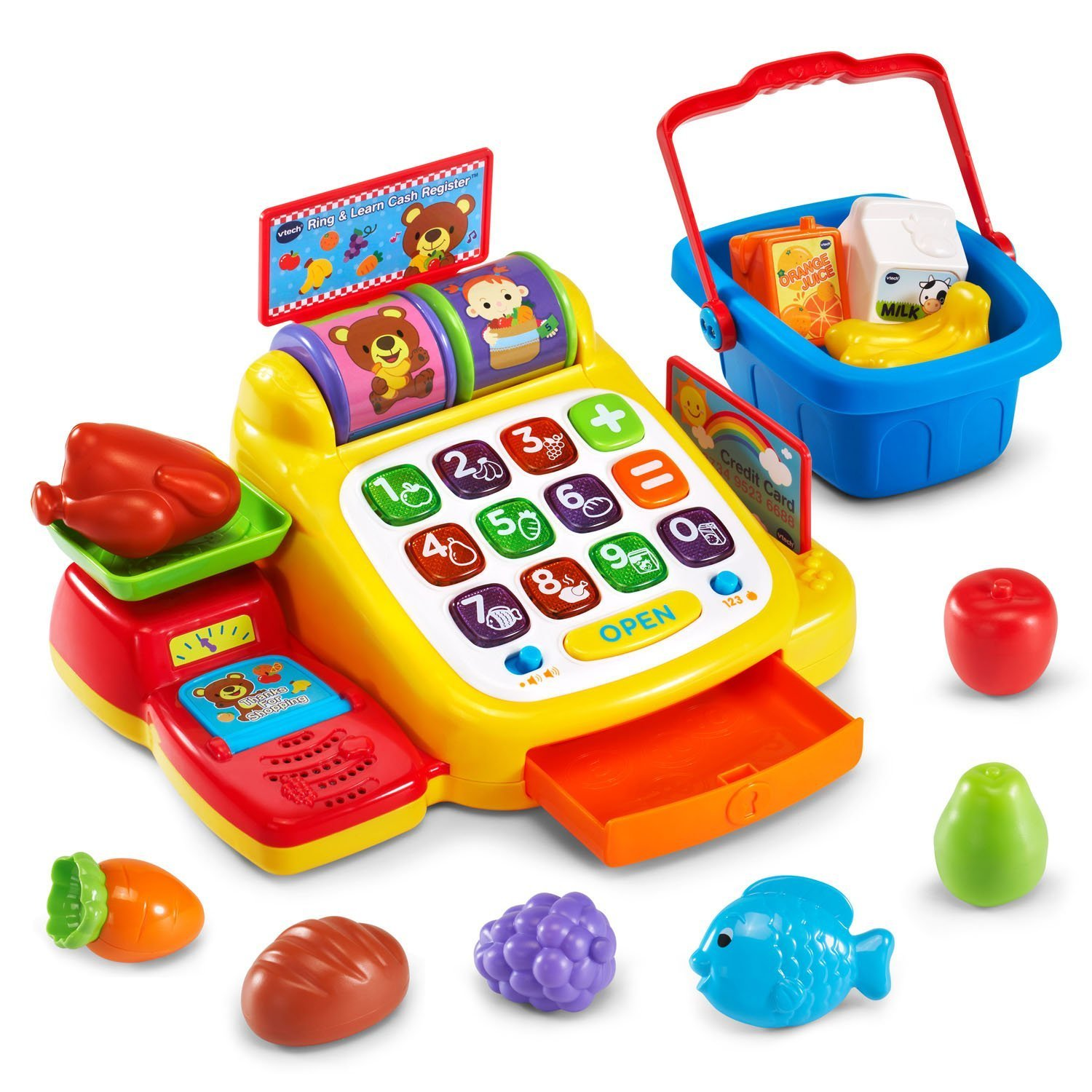 Vtech My First Cash Register Best Educational Infant Toys stores