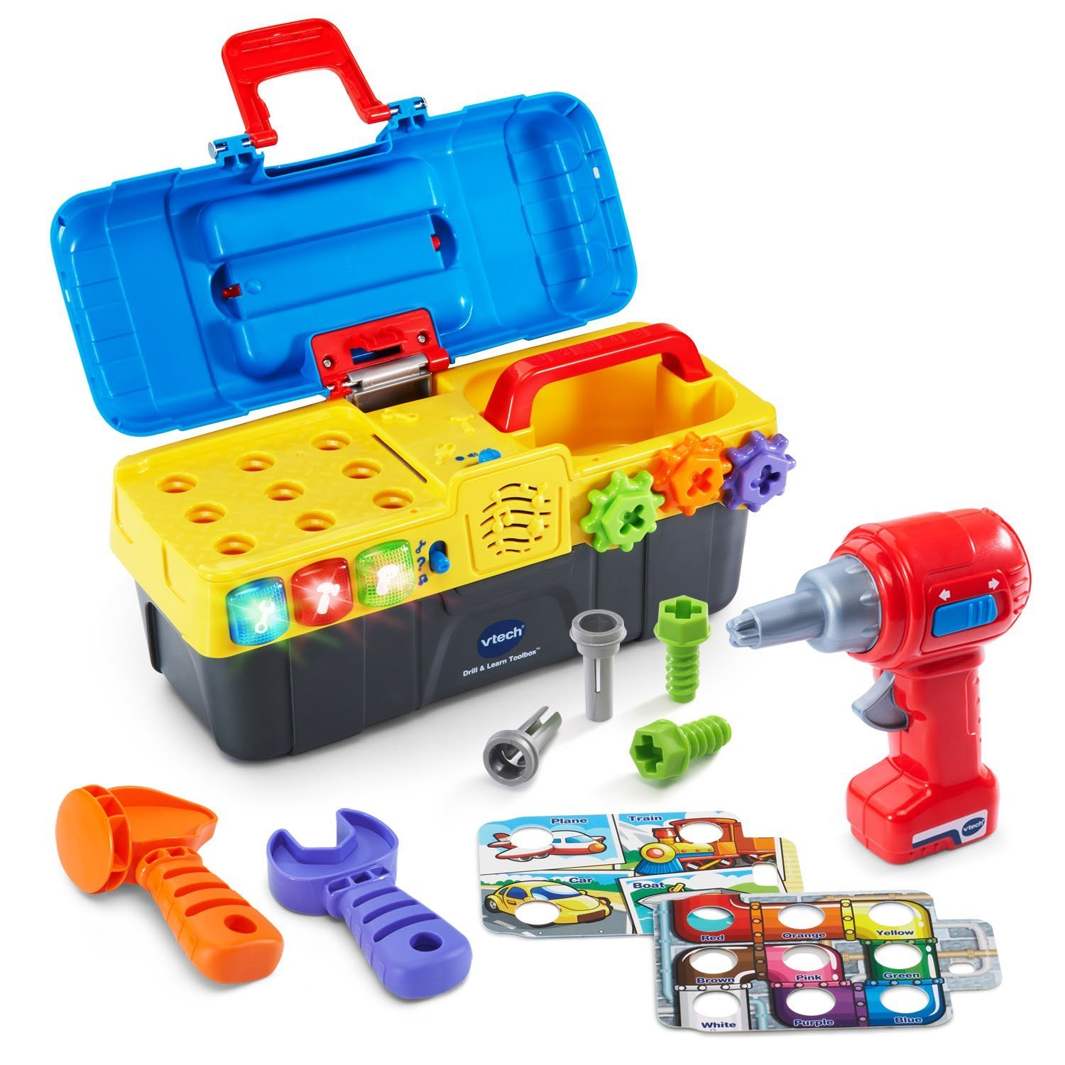 Vtech My 1st Tool Box Drill and Learn Best Educational Infant