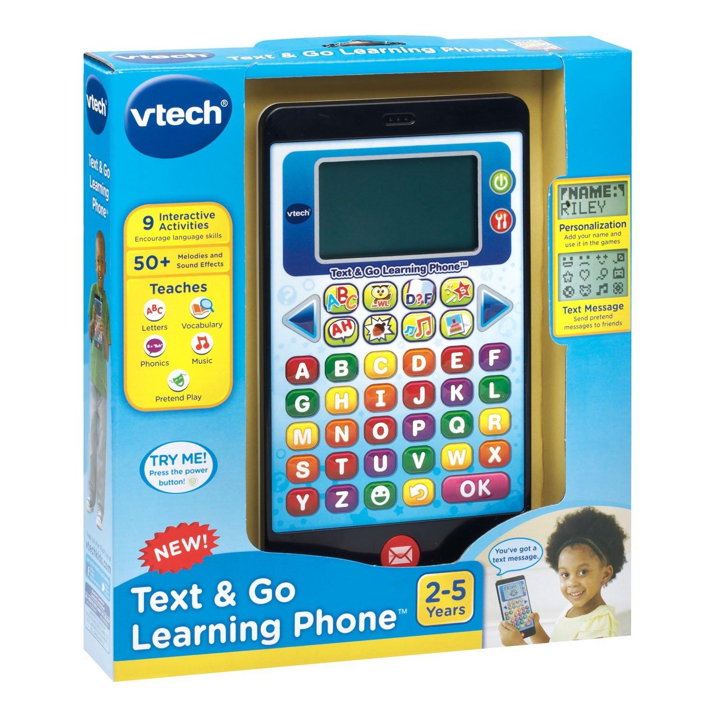 Vtech Text & Go Learning Phone - Best Educational Infant ...