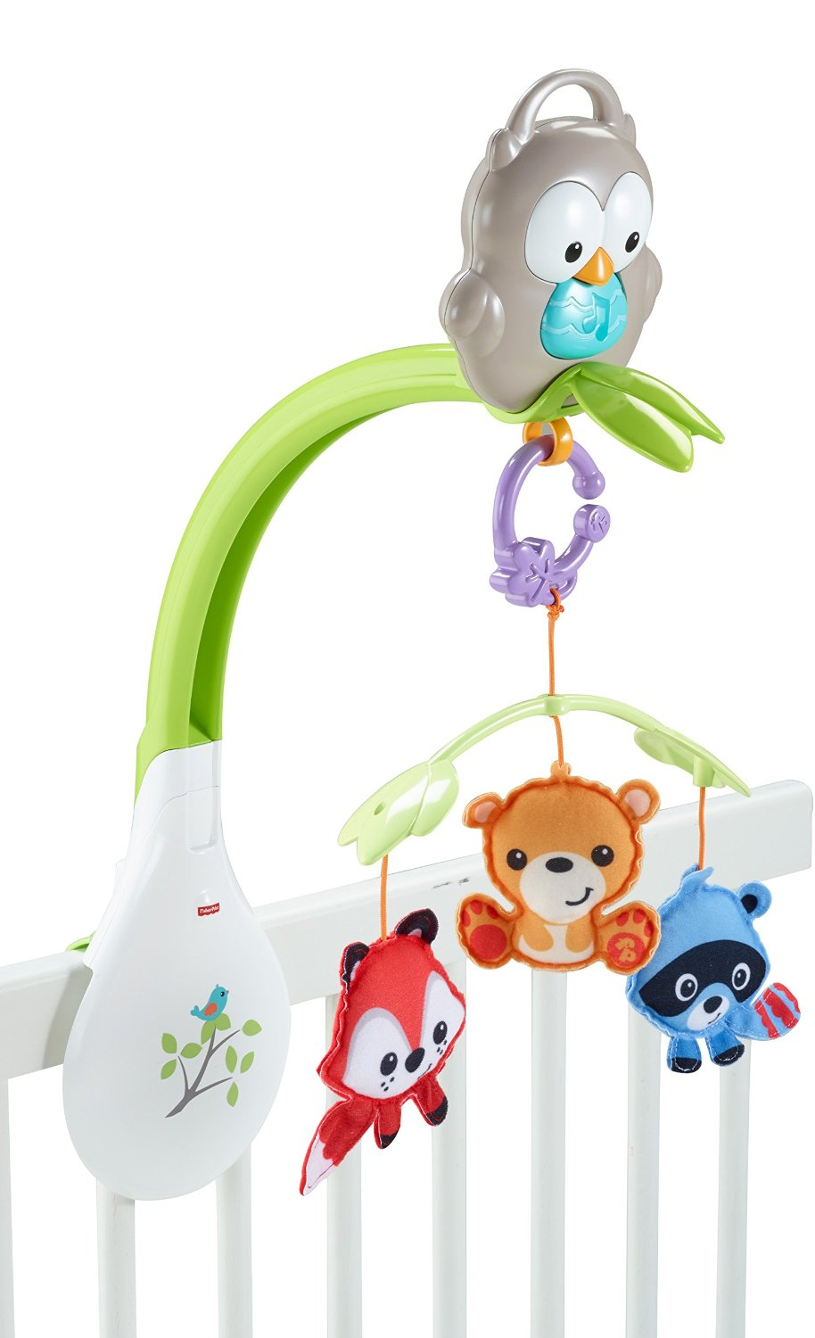 Woodland friends 3 in 1 musical mobile
