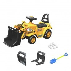 3 in 1 Bulldozer Fork-Lift Digger Shovel ride on YD1004