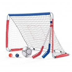 Step2 3-in-1 Pitchback, Soccer & Hockey Goal, football