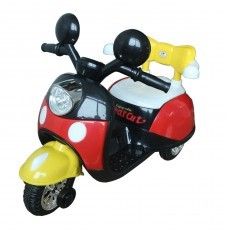 Battery Operated Motorcycle Scooter 99118 (Red Black)