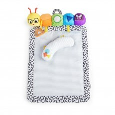Baby Einstein 3 in 1 Travel Pillar Tummy Play Mat Prop Pillow