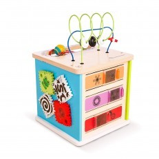 Baby Einstein Hape  Innovation Station Activity Cube wooden toy