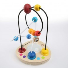 Baby Einstein Hape Color Mixer bead wooden toy