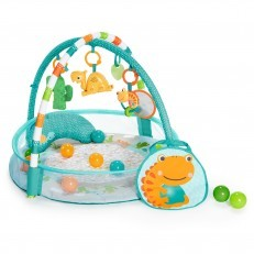 Bright Starts 4 in 1 Rounds of Fun Activity Gym & Ball Pit
