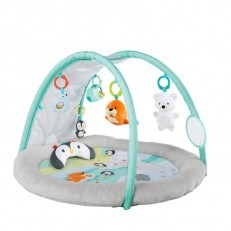 Bright Starts Arctic Glow Light Show Playmat Activity Gym