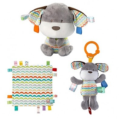 Bright Starts Baby's First Taggies Gift Set