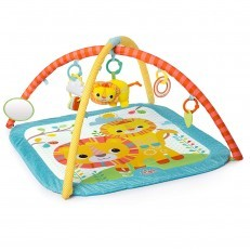 Bright Starts Little Lions Activity Gym playmat