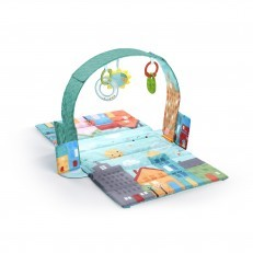 Bright Starts Easy Travel Activity Play Gym and Changing Mat