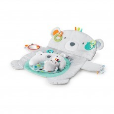 Bright Starts Tummy Time Prop & Play Prop Mat - Polar Bear