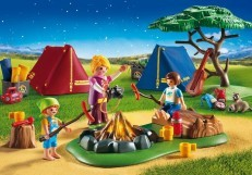 Playmobil Camp Site with LED Fire