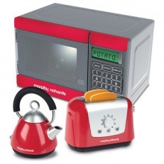 Casdon Morphy Richards Microwave, Kettle, Toaster Set