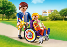 Playmobil Child in Wheelchair