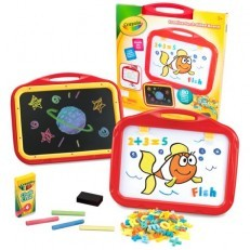 Crayola Creative Fun 2 Sided Board chalk board & magnetic board