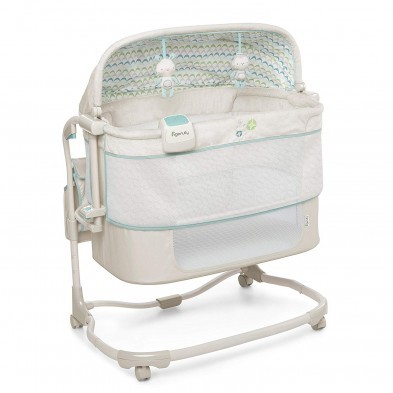 Ingenuity Dream and Grow Bedside Bassinet Deluxe Blakely