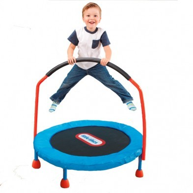 Little Tikes Easy Store 3 Ft Folding Trampoline