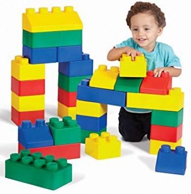 Edushape EduBlocks Set 26 Piece Lego Foam Blocks - Best