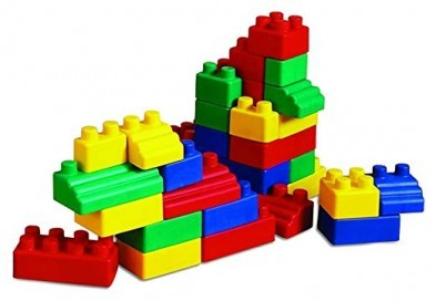Edushape EduBlocks Mini Edu Blocks 52 pcs Lego Foam Blocks