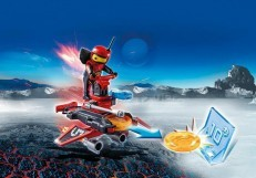 Playmobil Firebot with Disc Shooter