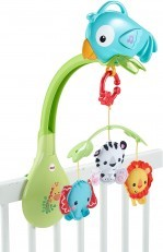 Fisher Price 3 in 1 Rainforest Friends Musical Mobile