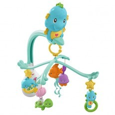 Fisher Price 3-in-1 Soothe & Play Seahorse Mobile
