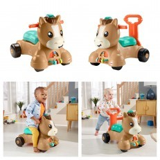 Fisher Price Walk, Bounce & Ride Pony (walker, bouncer, ride on)