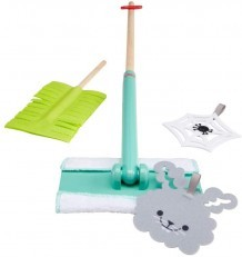 Fisher Price Clean Up and Dust Playset