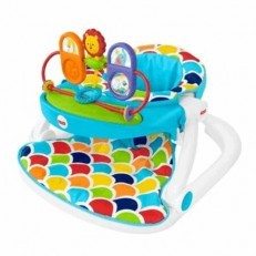 Fisher Price Deluxe Sit Me Up Floor Seat w/Toy Tray GBL20