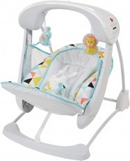Fisher Price Deluxe Take Along Swing & Seat (Windmill) DYH31