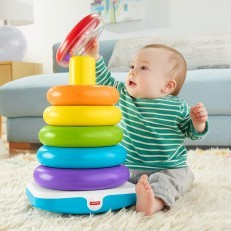 Fisher Price Giant Rock a Stack stacking rings stacker