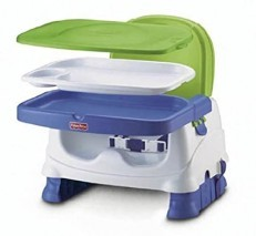 Fisher Price Healthy Care Deluxe Booster Seat (Blue Green)