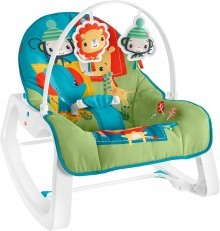 Fisher Price Infant to Toddler Rocker (Colorful Jungle) GWV90